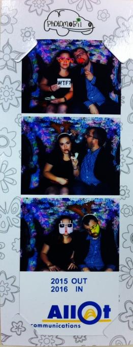 Jenny und Eliyah auf der Allot Feier